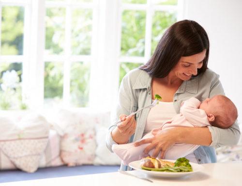 Alimentación durante la lactancia, cómo debe ser