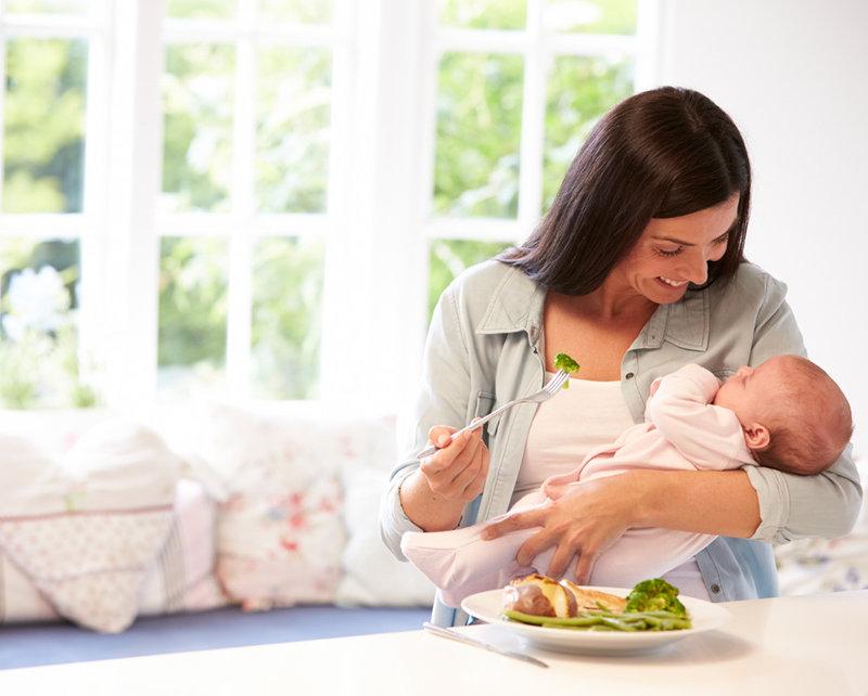 Alimentación durante la lactancia